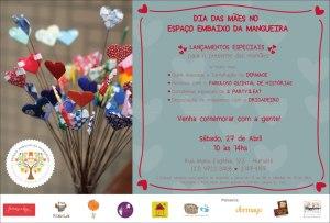 convite evento dia das maes